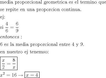 media proporcional geometrica - Foro fmat.cl